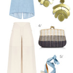 a summery, 70s vibe (with statement earrings)