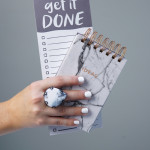 the struggle between to-do lists and new ideas