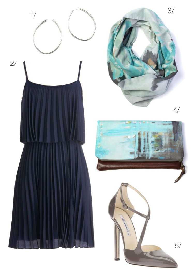 what to wear to an evening summer wedding - MEGAN AUMAN