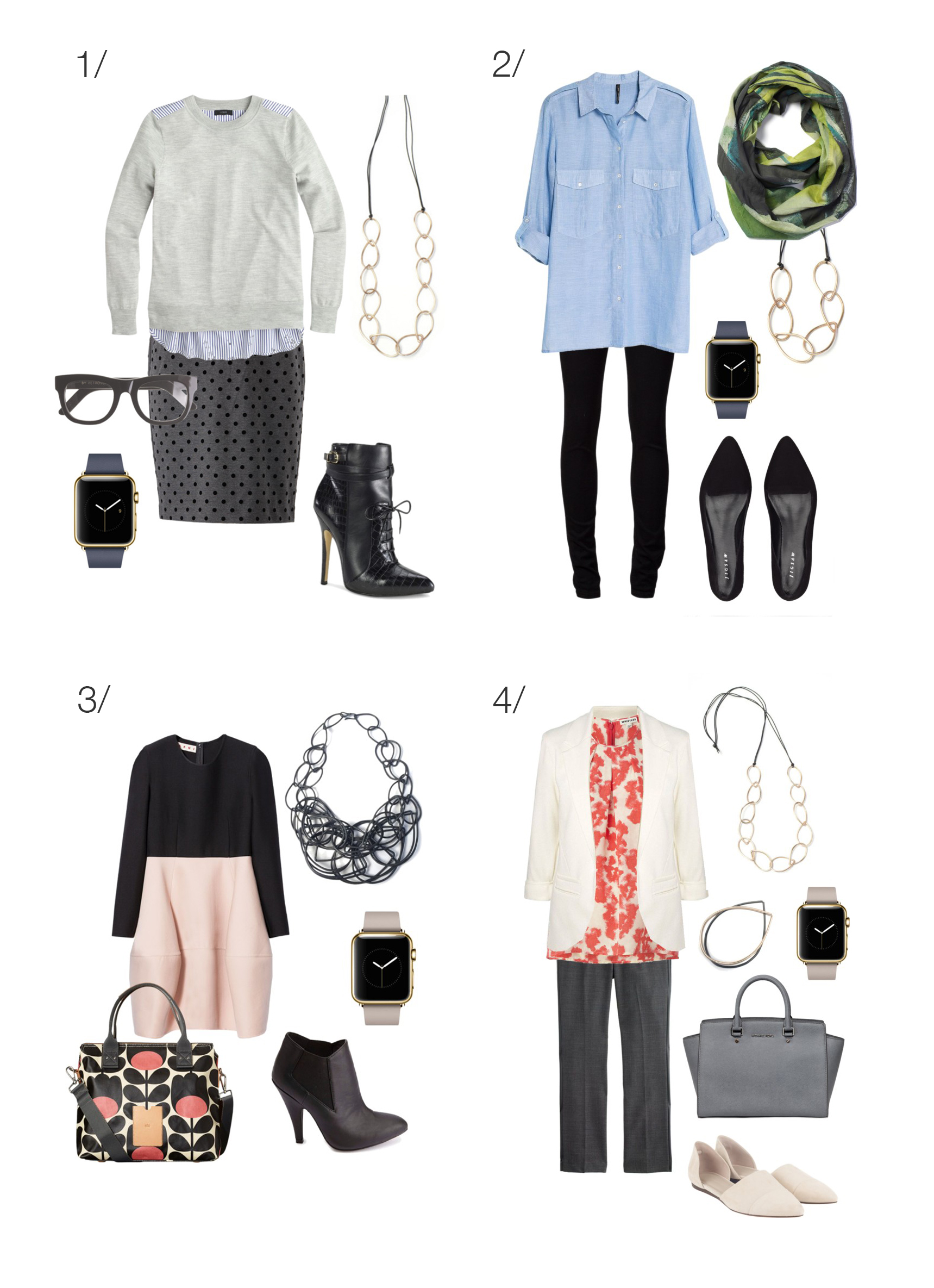 Twelve Outfits To Wear With Your Apple Watch Megan Auman