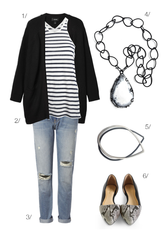 real world look: upgrade a basic outfit with a stunning ...