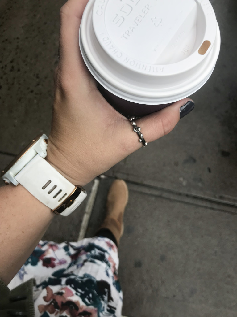 my trip to New York City Jewelry Week in five cups of coffee
